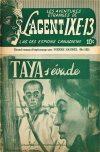 Cover For L'Agent IXE 13 v2 182 Taya s'évade
