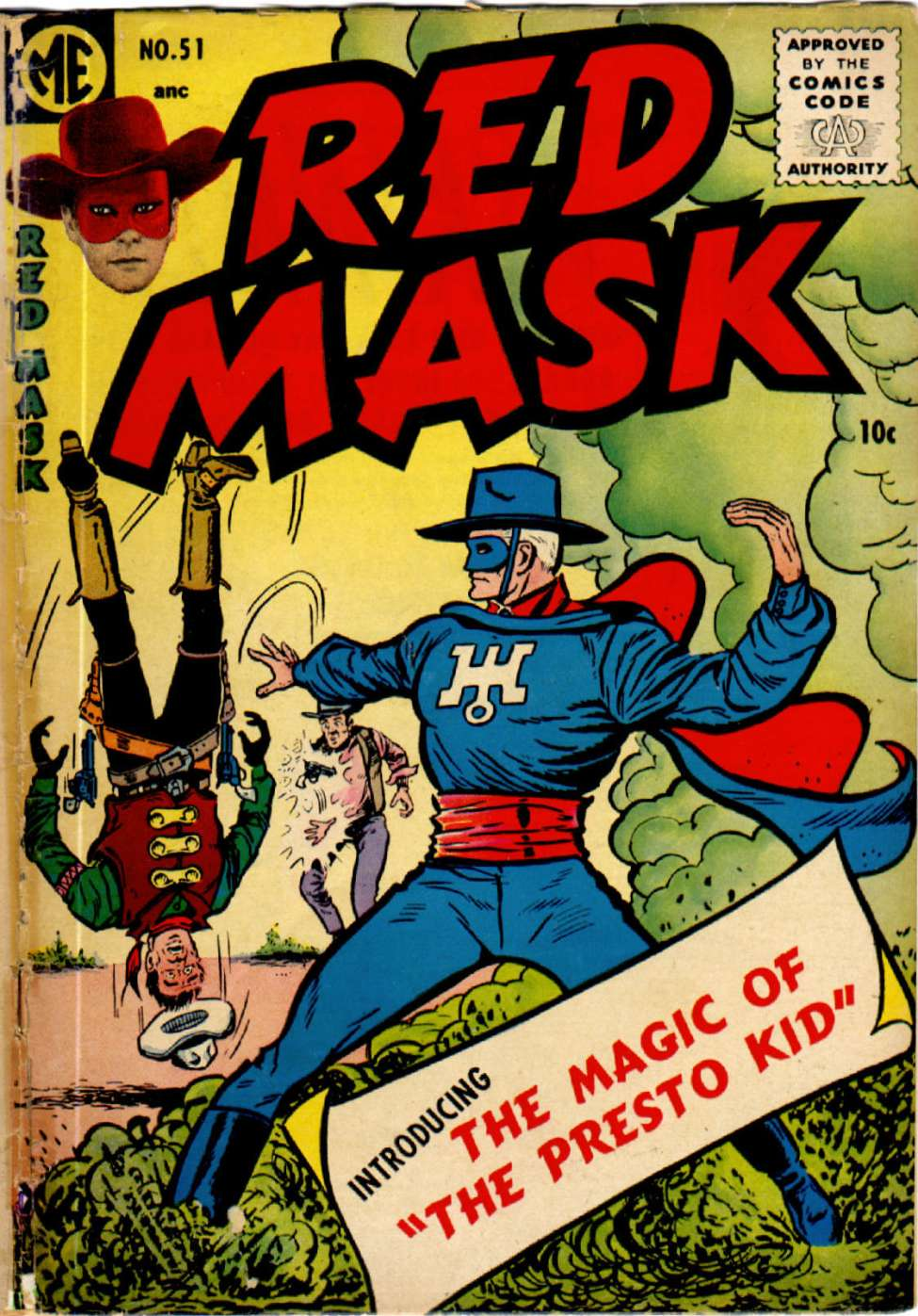 Comic Book Cover For Red Mask #51