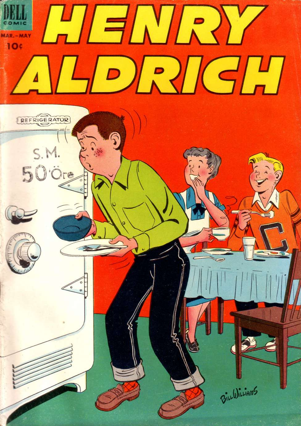 Comic Book Cover For Henry Aldrich #16