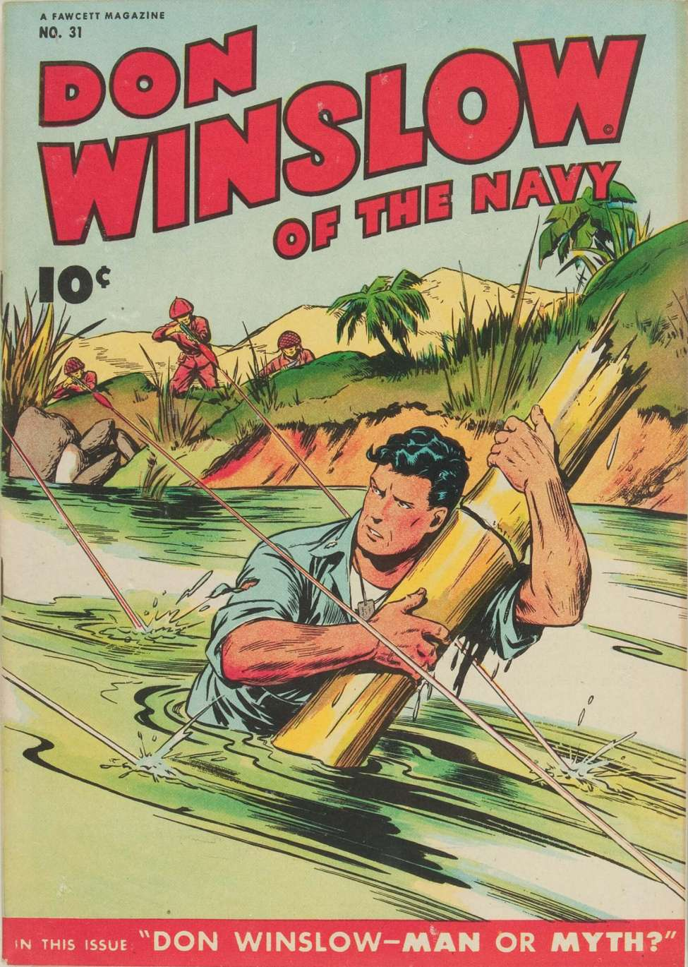 Comic Book Cover For Don Winslow of the Navy #31