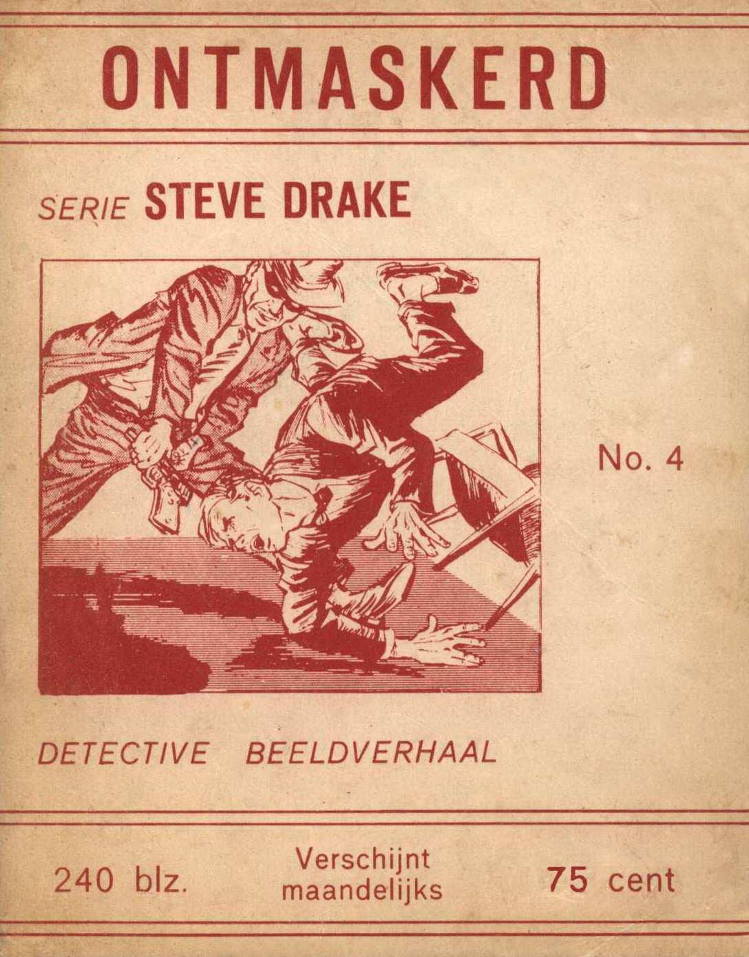 Comic Book Cover For Steve Drake 04 - Ontmaskerd