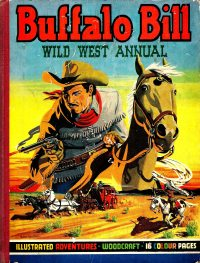 Large Thumbnail For Buffalo Bill Wild West Annual 1950
