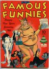 Cover For Famous Funnies 114