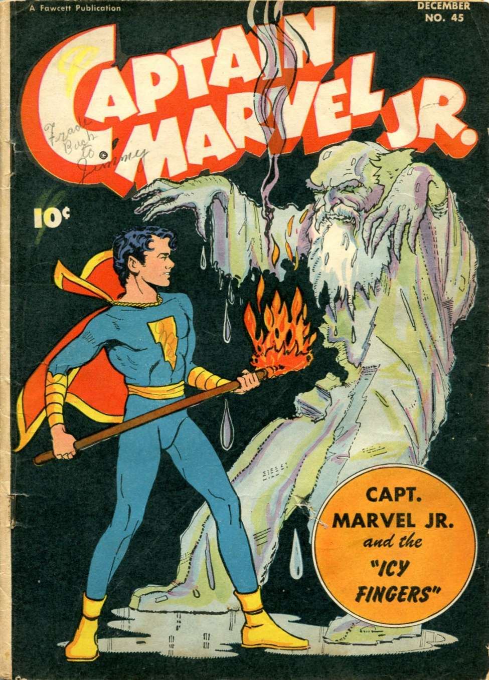 captain marvel jr comics