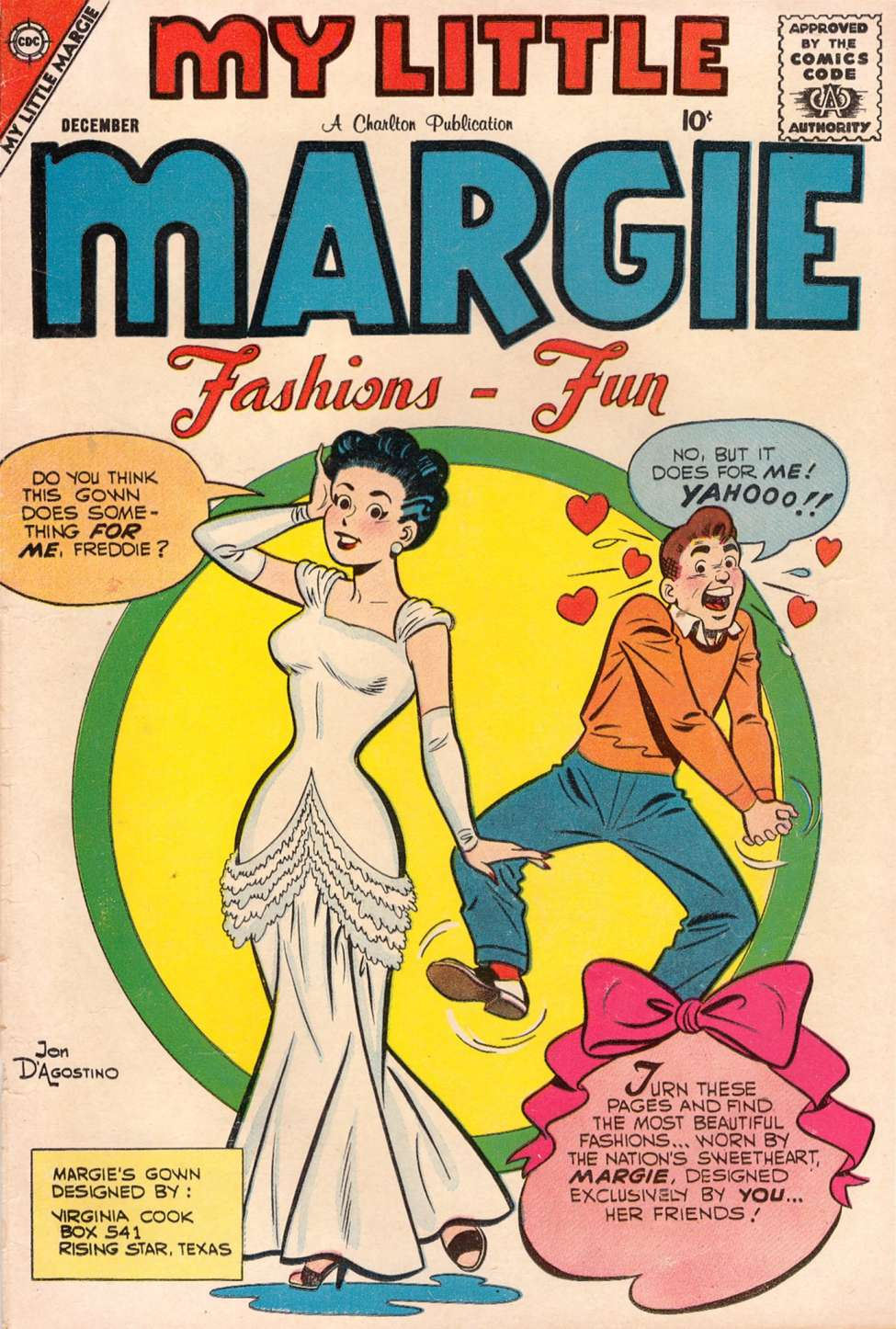 Comic Book Cover For My Little Margie #22