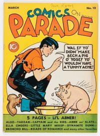 Large Thumbnail For Comics on Parade v1 #12