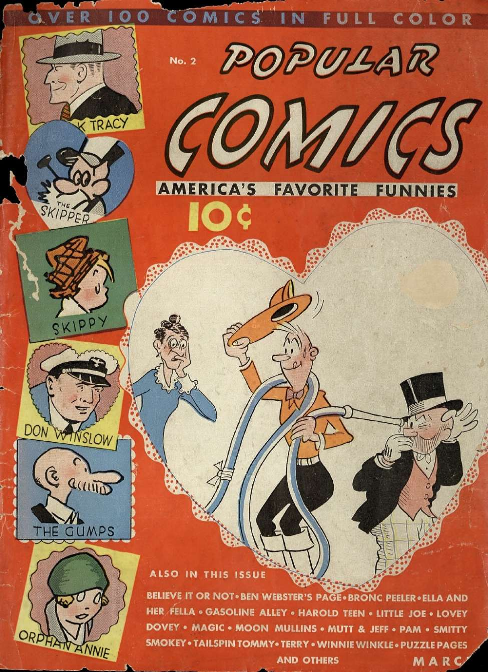 Comic Book Cover For Popular Comics #2