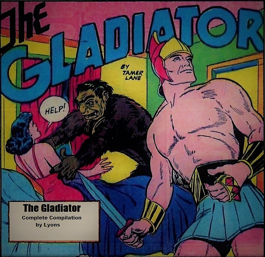 Comic Book Cover For The Gladiator