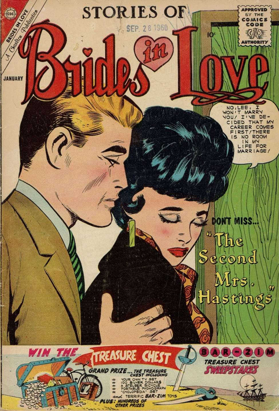 Comic Book Cover For Brides in Love #22