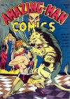 Cover For Amazing Man Comics 14 (paper/2fiche)