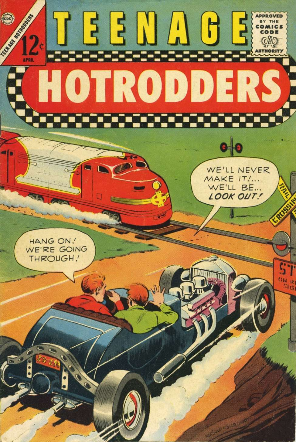 Teenage Hotrodders #1 (Charlton) - Comic Book Plus