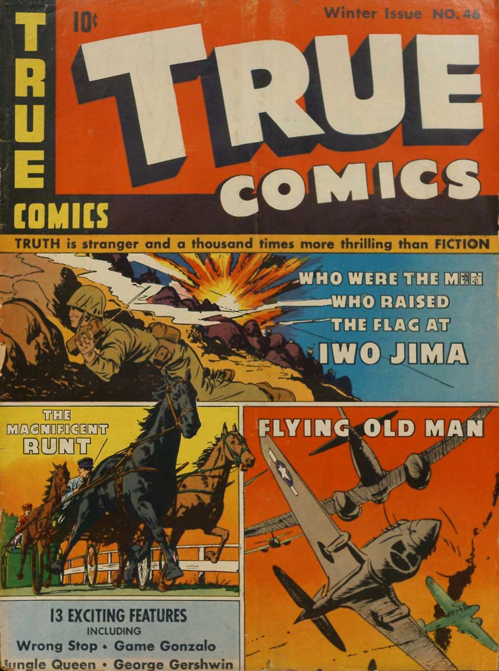 Comic Book Cover For True Comics #46