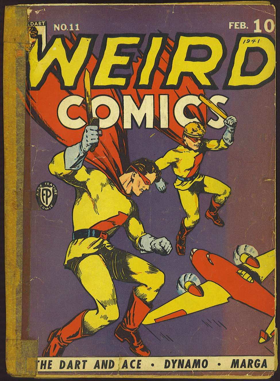Comic Book Cover For Weird Comics #11