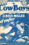 Cover For Aventures de Cow Boys 6 3500 milles d'enfer