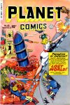 Cover For Planet Comics 63