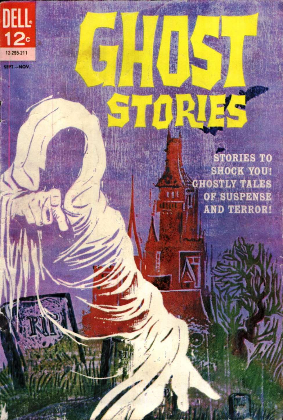 Comic Book Cover For Ghost Stories [1]