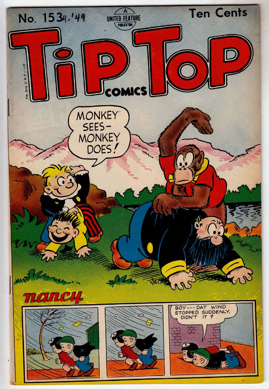 Comic Book Cover For Tip Top Comics 153