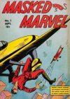 Cover For Masked Marvel 1