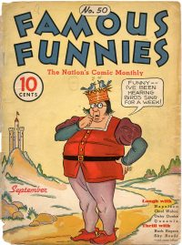 Large Thumbnail For Famous Funnies #50