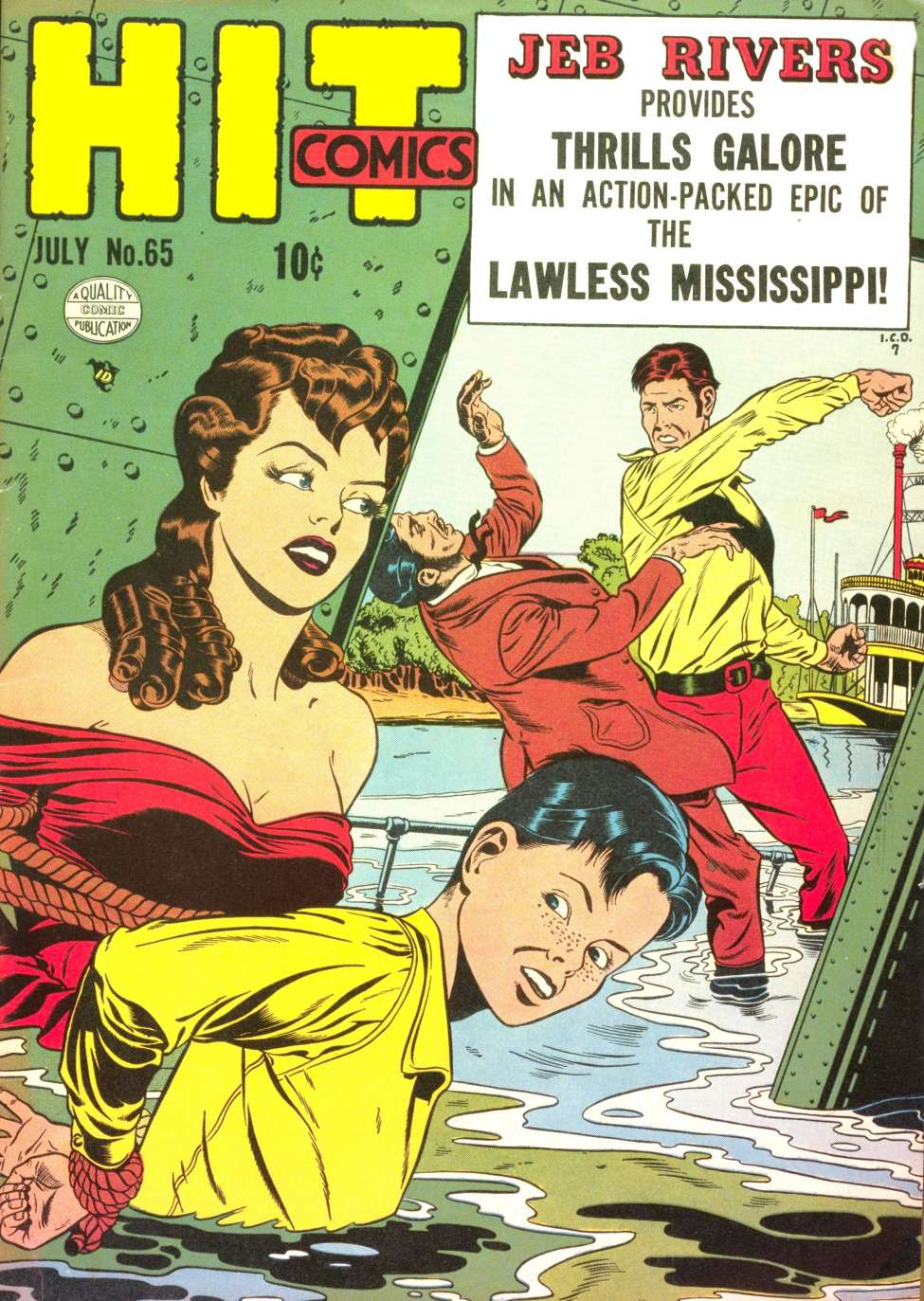 Comic Book Cover For Hit Comics #65