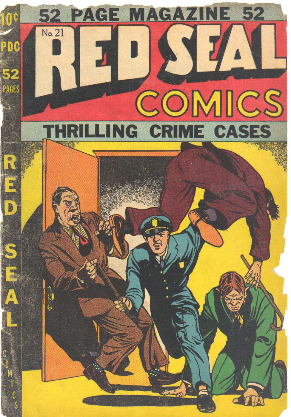 Comic Book Cover For Red Seal Comics #21