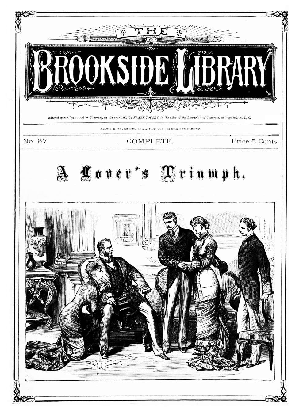 Comic Book Cover For The Brookside Library 0037