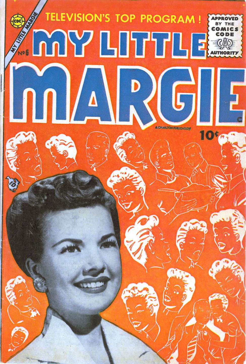 Comic Book Cover For My Little Margie #6