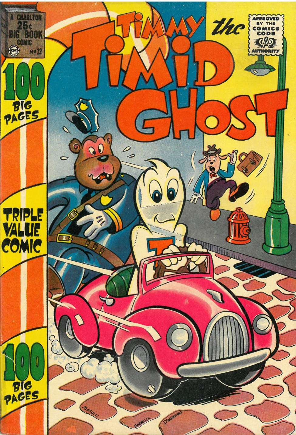 Comic Book Cover For Timmy the Timid Ghost #12