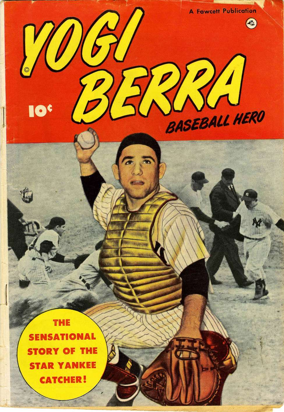 Comic Book Cover For Yogi Berra