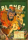 Cover For Planet Comics 16