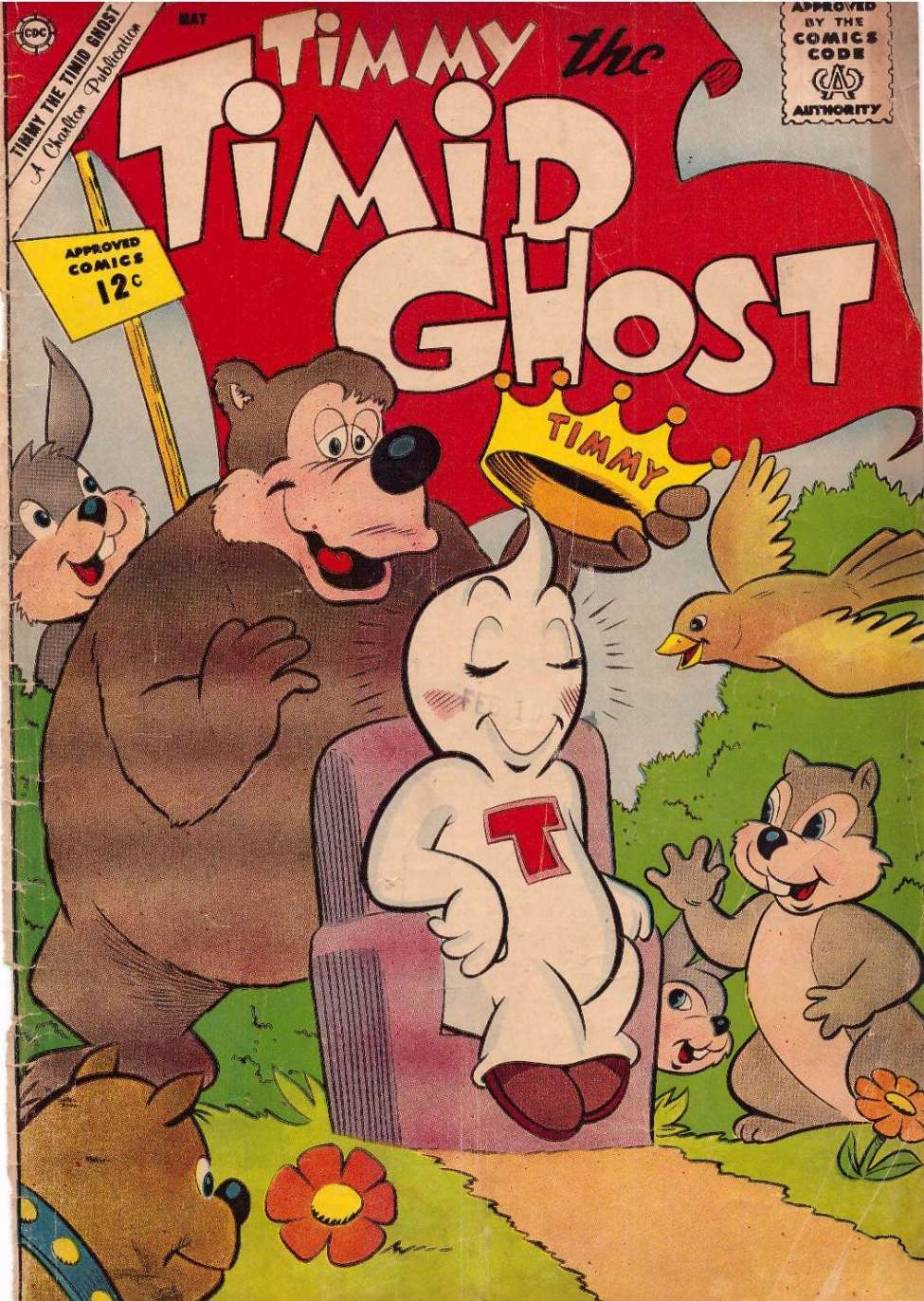 Comic Book Cover For Timmy the Timid Ghost #32