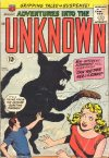 Cover For Adventures into the Unknown 135