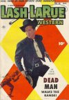 Cover For Lash Larue Western 45