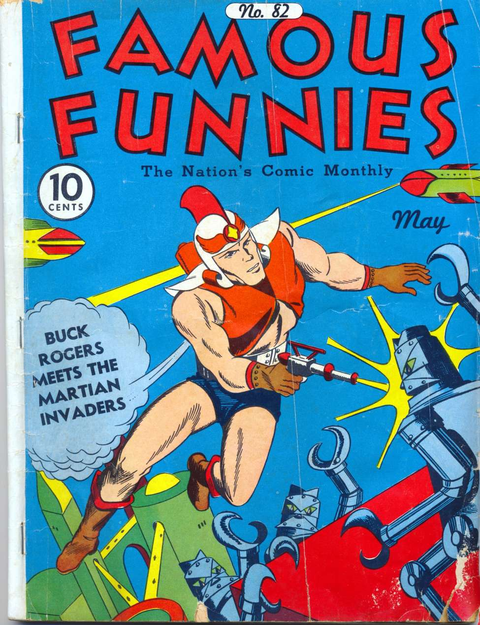Comic Book Cover For Famous Funnies #82
