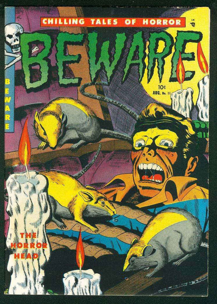 Comic Book Cover For Beware #11