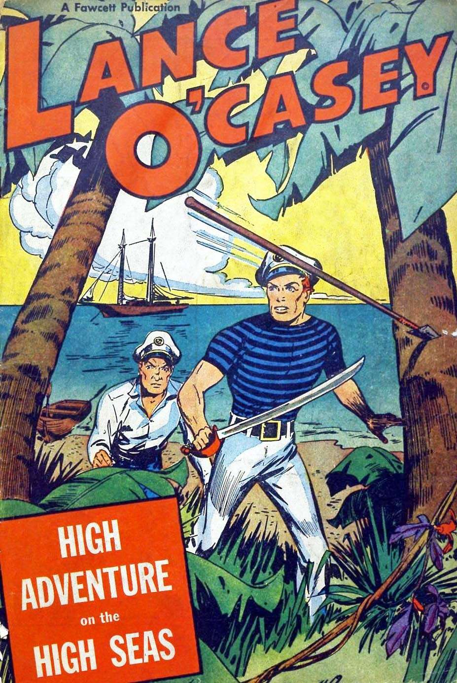 Comic Book Cover For Lance O'Casey Archives Vol 03