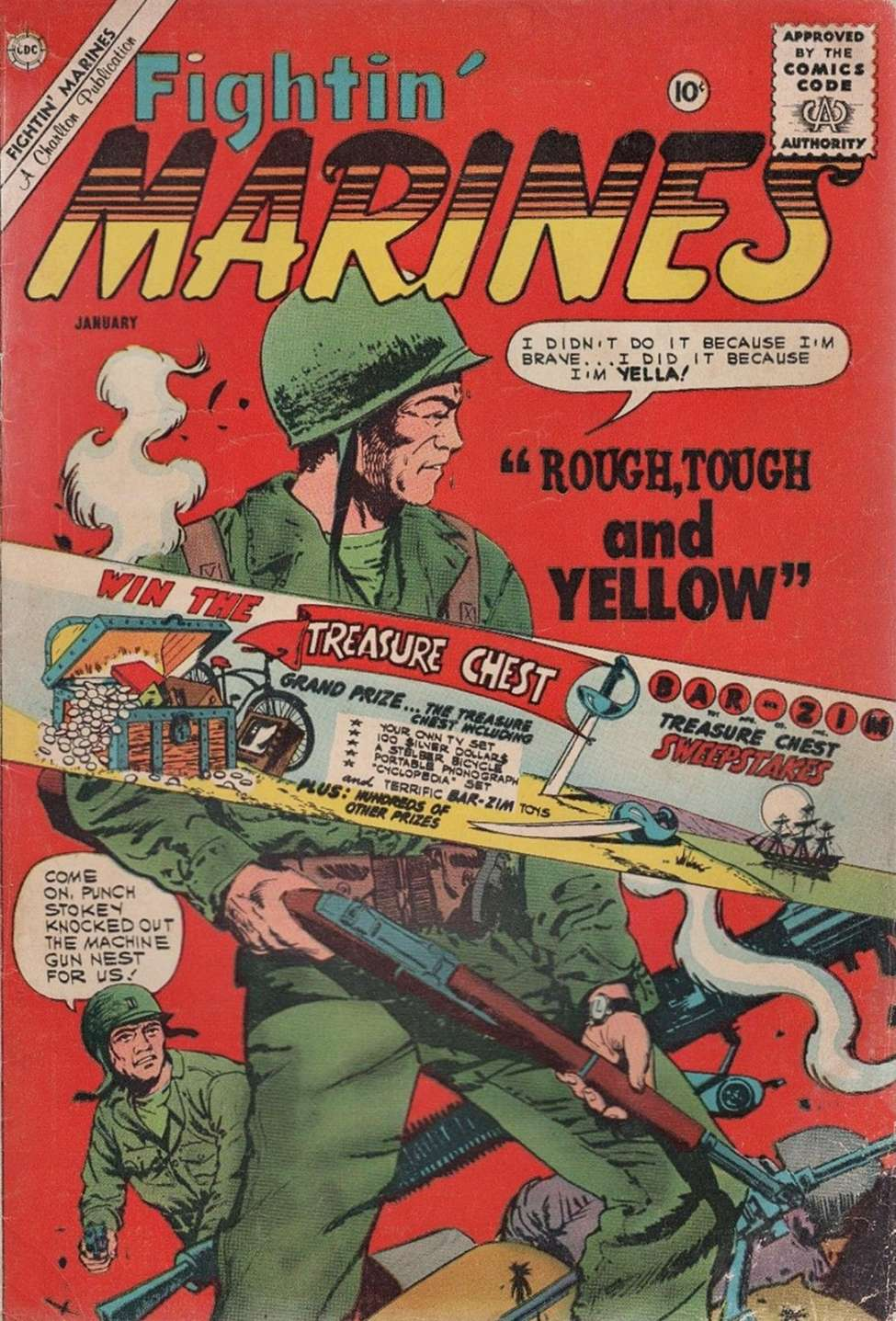 Comic Book Cover For Fightin' Marines #39