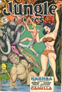 Large Thumbnail For Jungle Comics #104