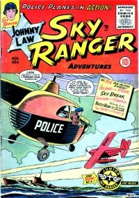 Large Thumbnail For Johnny Law, Sky Ranger #4
