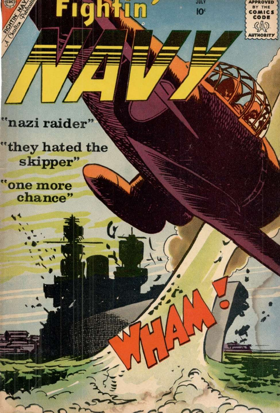 Comic Book Cover For Fightin' Navy #93
