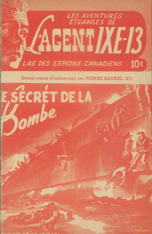 Comic Book Cover For L'Agent IXE-13 v2 027 - Le secret de la bombe