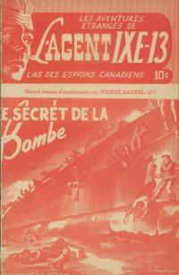 Large Thumbnail For L'Agent IXE-13 v2 027 - Le secret de la bombe