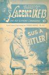 Cover For L'Agent IXE 13 v2 123 Sus à Hitler