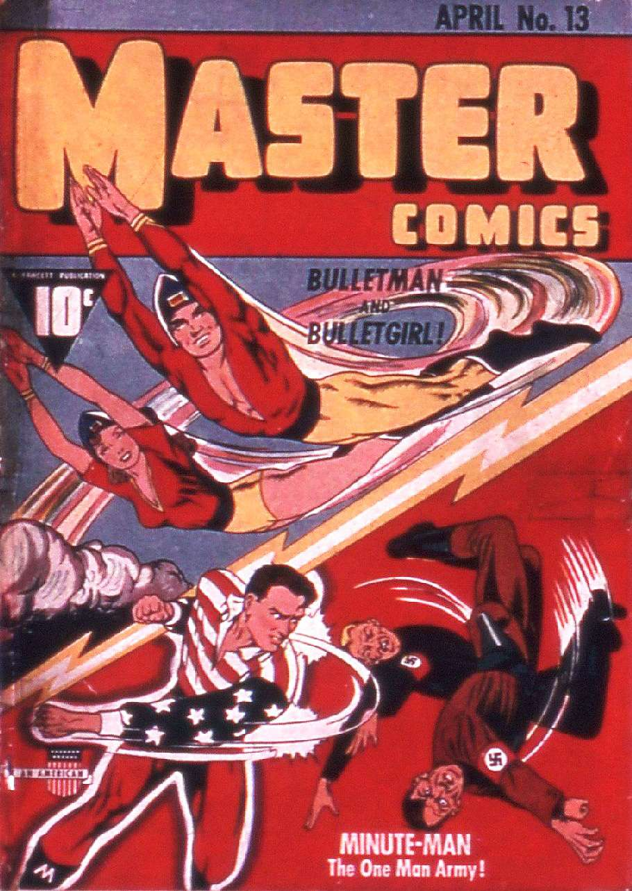 Comic Book Cover For Bulletman Archive Vol 02