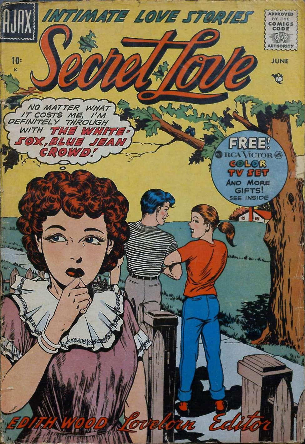 Comic Book Cover For Secret Love 6