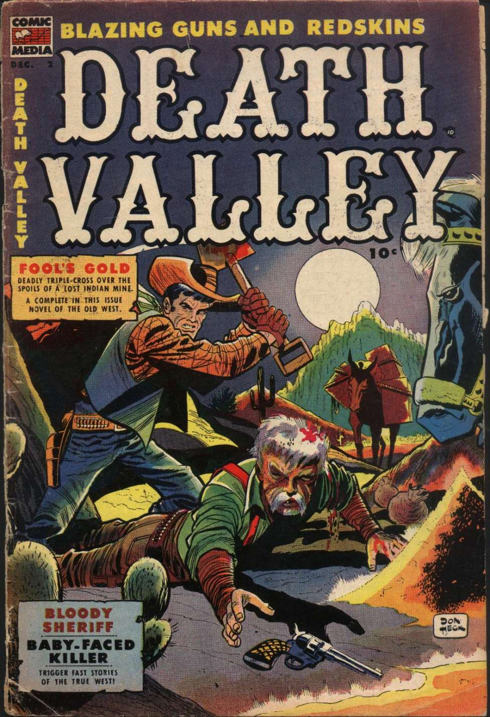 Comic Book Cover For Death Valley #2