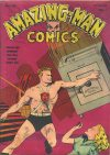 Cover For Amazing Man Comics 16