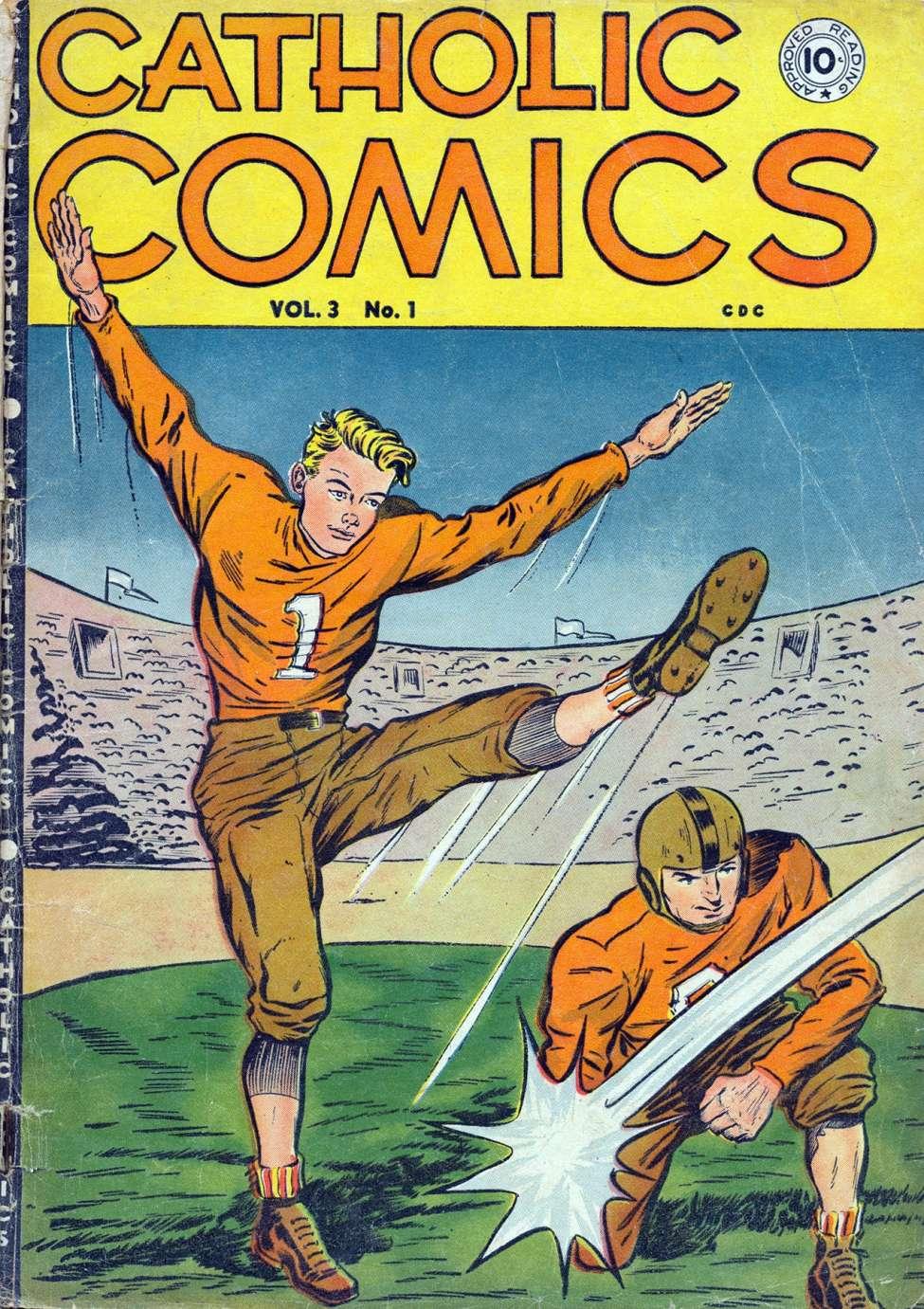Comic Book Cover For Catholic Comics v3 #1