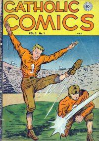Large Thumbnail For Catholic Comics v3 #1