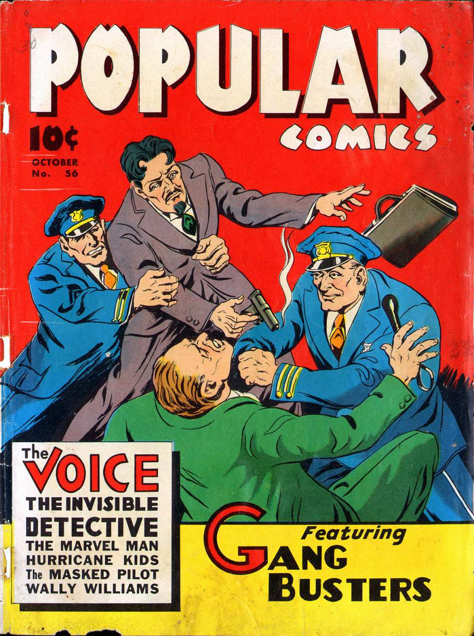 Comic Book Cover For Popular Comics #56